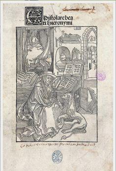 Hieronymus, Sanctus: Epistolae. Ed. Johannes Andreas de Buxis. Roma, Konrad Sweynheym y Arnold Pannartz, [no después del 30 VIII] 1470. [H-27]: I-1110, hoja 10 r.