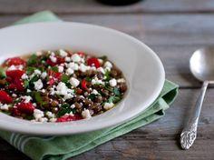 Greek Lentil Soup from @Winnie Abramson of Healthy Green Kitchen
