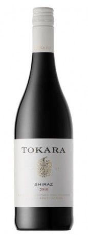 TOKARA Shiraz 2010 - we had this wine with lunch yesterday - a very pleasant Shiraz. Tokara is well worth a visit