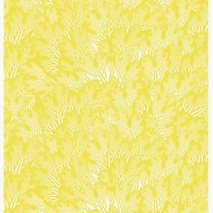 Meriheinä fabric, yellow, by Marimekko.