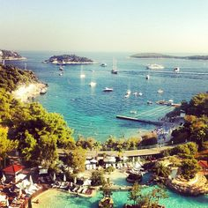 Hvar Island, Croatia / photo by Romain Colin  TOO APPROPRIATE considering i will be there in 3 days