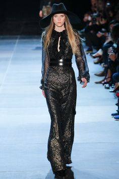 Saint Laurent Spring 2013 Ready-to-Wear Fashion Show - Caitlin Holleran (VIVA)