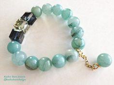 Kathy Hart Jewels #Natural #Stone #Elastic #Beaded #Bracelet #Handmade #Custom #Accessories #Jewelry #Designer #Necklace