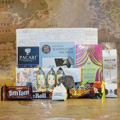 Geschenkbox Schoko Weltreise jetzt im design3000.de Shop kaufen! Ein Leben ohne Schokolade ist möglich, aber sinnlos! Schoko-Fans und...