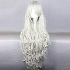 Queen Victoria Cosplay Wig.