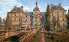 Palazzo di Lussemburgo (Parigi), Luxembourg palace (Paris)  Assassin's creed unity