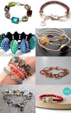 Bracelets galore!!!!!  :-D