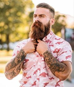 We make and deliver everything you need to maintain and grow a beard. From beard oil, balm, combs to beard growth products, grooming kits and gift sets. Viking Beard Styles, Beard Styles For Men, Hair And Beard Styles, Moustache, Bart Styles, Barba Grande, New Beard Style, Best Beard Growth, Beard Softener
