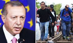 Turkey's president 'MOCKS European Union countries' for not taking more refugees  TURKEY'S president has allegedly mocked the European Union over the humanitarian crisis, claiming the country takes almost ten times as many refugees than member states
