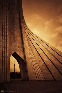 Shahyad (azadi) + milad tower