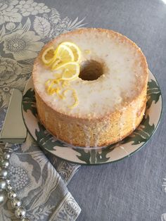 A light, luscious, lemony chiffon cake that showcases seasonal citrus fruit in the most perfect way.  http://aredbinder.com/2018/01/meyer-lemon-olive-oil-chiffon-cake.html
