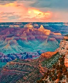 Grand Canyon Sunset, Arizona...would love to travel along on route 66 and explore everything the grand canyon has to offer.