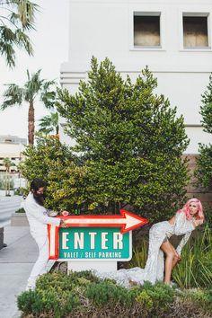 Epic Las Vegas Elopement: Ainsley & Sebastien · Rock n Roll Bride Wedding Humor, Wedding Pics, Our Wedding, Dream Wedding, Wedding Shit, Elope Wedding, Budget Wedding, Wedding Stuff, Wedding Dresses