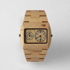 Want Wooden Watch.