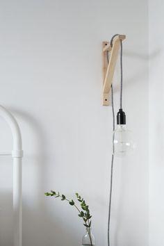 lampje naast bed