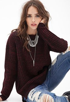 Oversized Fisherman Sweater | FOREVER21 - 2000122031