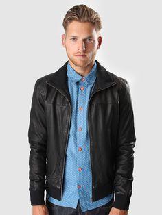 Revolution - Ohio leather jacket 7218   FreshCotton.com