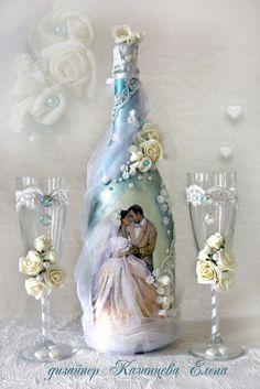"""Gallery.ru / Фото #2 - Свадебный набор """"Очарование"""" - kazantceva"""