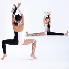 Ying and Yang - such a great costume