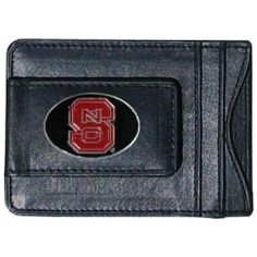 NCAA North Carolina State Wolfpack Cash and Card Holder by Siskiyou. $15.99. Our genuine leather North Carolina St. Wolfpack money clip/cardholder is the perfect way to organize both your cash and cards while showing off your school spirit!