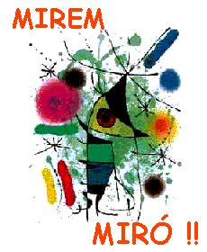 Mirem Miró Propostes treballades a Spanish Painters, Paul Klee, Arte Popular, Joan Miro, Projects For Kids, Art School, Fused Glass, Activities For Kids, Art For Kids