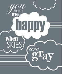 """""""Charcoal Skies Are Gray"""" Print by Trendography Prints on #zulily !"""