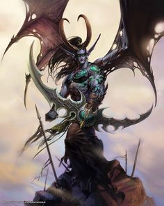 """""""Whatever I may be - whatever I may become in this world - know that I will always look out for you, Tyrande.""""- Illidan Stormrage"""