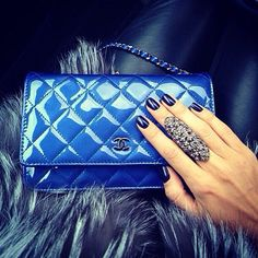 Electric Blue Chanel ~ Jacque Reid