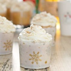 Sweet Pea's Kitchen » Eggnog Cupcakes with Rum-Infused Frosting + $100 Holiday Baking Giveaway