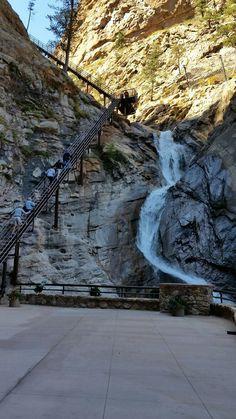 Seven Falls (Colorado Springs) Road Trip To Colorado, State Of Colorado, Colorado Hiking, Colorado Mountains, Colorado Tourism, Rocky Mountains, Seven Falls Colorado Springs, Colorado Waterfalls, Places To Travel