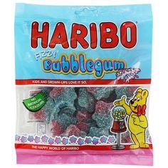 Haribo Bubblegum Splats - 160g