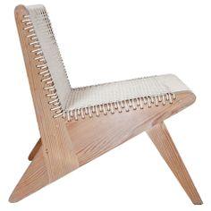 WEDGEseries 'Arrowhead' corded lounge chair
