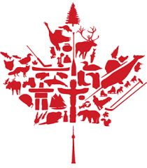 Each of us has a different list of 10 or more things to describe what we love about Canada, and this is one of the reasons why I love Canada: our differences and individualities are celebrated! A beautiful maple leaf design to summarize this idea? Canadian Culture, I Am Canadian, Canadian Maple, Visa Canada, Canada 150, Canada Leaf, Canada Trip, Canadian Symbols, Montreal