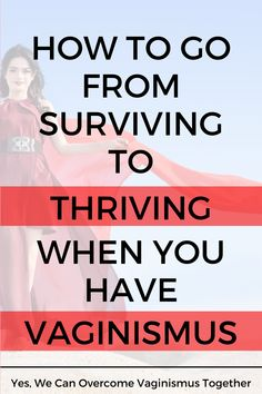 Are you a woman who is living with vaginismus? It can be easy to feel like a victim when you have vaginismus, as it is a difficult condition to live with both physically and emotionally. But in this post, you'll learn how to go from surviving to thriving while on your vaginismus healing journey. Read on here! Womens Health Tips | Female Health Tips | Feminine Health Tips #vaginismus Health Advice, Health Quotes, Wellness Tips, Health And Wellness, Womens Health Care, Womens Health Magazine, Health Vitamins, Holistic Approach, Healthy Women