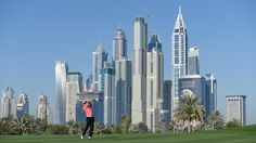Joost Luiten of the Netherlands on the 13th hole during the second round of the Omega Dubai Desert Classic at the Emirates Golf Club on January 30, 2015 in Dubai, United Arab Emirates. (January 29, 2015 - Source: Ross Kinnaird/Getty Images Europe)