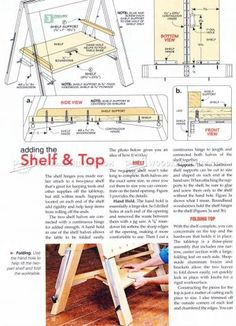 WoodArchivist is a Woodworking resource site which focuses on Woodworking Projects, Plans, Tips, Jigs, Tools Shelf Supports, Table Plans, Tricks, Wood Crafts, Woodworking Projects, Projects To Try, Bench, Shelves, Workshop Ideas