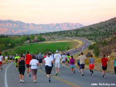 St. George Marathon, Utah..an amazing Marathon.