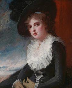 Portrait of Emma Hart, later Lady Hamilton, George Romney