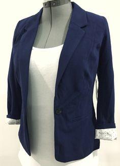 Kensie Rebekah Blazer in navy blue  Would also love greed, black, gray, red, deep purple...
