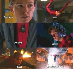 with great power comes great responsibilities❤️