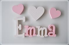 Wooden Name Letters, 3d Letters, B Baby Names, Girl Room, Baby Room, Baby E, Nursery Letters, Kids Wall Decor, Cute Couples Goals