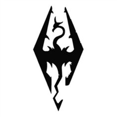Elder scrolls V:Skyrim Logo - Roblox