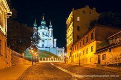 Kiev. Andrew's descent. by Aleksandr Naumenko on 500px