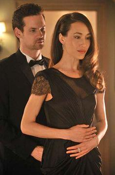 Shane West and Maggie Q as Michael & Nikita in Nikita (2010-2013)
