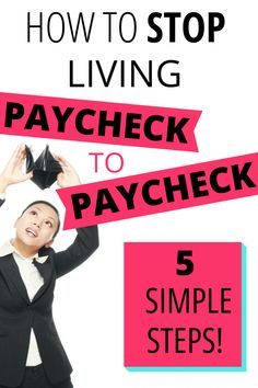 Sick of living paycheck to paycheck? Try these simple steps to manage your money, budget better and pay off debt faster. Save Money On Groceries, Ways To Save Money, Money Tips, Money Saving Tips, Money Budget, Saving Ideas, Debt Repayment, Debt Payoff, Financial Stress