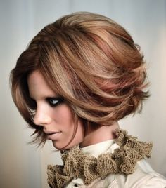 love the bluntness with the texture beauty