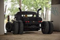 Image result for rat rod dually