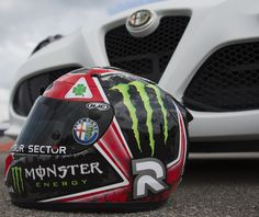 The legendary 'Quadrifoglio Verde' on Jorge Lorenzo's helmet