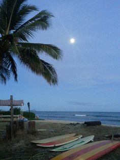 Moonrise. Ewa Beach, HI
