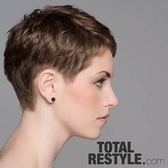 Image result for ultra short buzz hairstyles for women